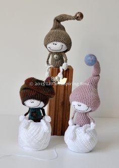 LUCKY DOLL crochet amigurumi PDF Crochet Pattern von lescreasdeclo