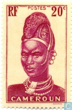 Postage Stamps - Cameroon [CMR] - Woman from Lamido