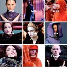 ❝ The Queen's Handmaidens are an elite group. They aren't servants or pretty decorations for the court. They are chosen for their courage and intelligence. They would give their lives for the Queen and for Naboo. In other words, they aren't there to fetch me glasses of nectar. ❞ #starwars