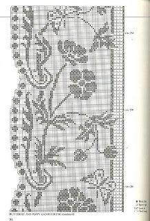 Szydełkomania .... Loads & Loads of filet/cross stitch patterns & charts; complete scanned books.....