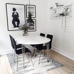 Se lige denne skønne lejlighed, som min veninde Anne Marie har indrettet så fint I kan komme på besøg i hele hendes stue/spisestue på bloggen eller besøg hendes instagram @interioer_entusiasten ✌️