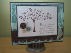 Thoughts and Prayers sympathy by Irishlatte - Cards and Paper Crafts at Splitcoaststampers