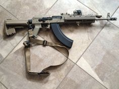Capable Weapon Systems, The Operator's AK47, by D. Huff