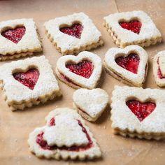 Petits gâteaux de Saint-Valentin