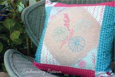 lime gardenias: Sea Urchin embroidery pattern