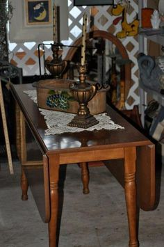 1000 images about fold down tables on pinterest drop for Narrow dining room table with leaves