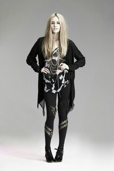 Goth Rocker Outfit