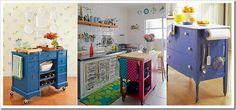 Ilhas de cozinha. Mulheres em Conflito: Ilhas de cozinha.
