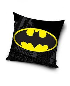 Batman Logo Filled Cushion
