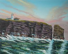 Loop Head, by Fergal O'Dea, Irish Artist. Pretty Images, Pretty Pictures, Beautiful Images, Irish Art, Pretty Art, Beautiful Paintings, Art Blog, Art For Sale, Ireland