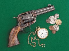 A Bowen Classic ARMS-built Colt's Single Action Army. Photo by Hamilton Bowen. Colt Single Action Army, Single Action Revolvers, Airsoft Guns, Weapons Guns, Cowboy Action Shooting, Hand Cannon, Neck Bones, Dark Eldar, Cool Guns
