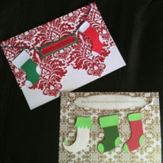 2011 homemade Christmas cards