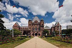 Pink Palace Toronto parliament building