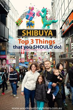 Top 3 Things you simply SHOULD to do in Shibuya and Harjuku The Shibuya Crossing, Meiji Shrine and Takeshita Dori Street in Harajuku! One of the busiest districts in Tokyo and well worth a visit on your trip to Japan! Tokyo Japan Travel, Shibuya Tokyo, Japan Travel Guide, Asia Travel, Japan Trip, Tokyo Trip, Tokyo Vacation, Tokyo 2020, Japan With Kids