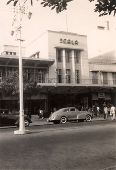 Cinema Scala, Anos 50 em L. Maputo, Nostalgic Pictures, Colonial Architecture, Photography Challenge, Zimbabwe, Tanzania, Cabo, Portuguese, Portugal