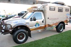 The Turtle Expedition Ford F-550 Truck Was Featured at the 2011 SEMA Show