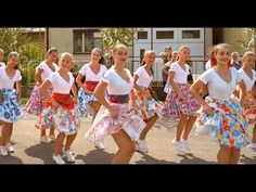 Ľudovka SK & Stefi - Slovenské Mamičky (Jedna Stará B. Fun Workouts, Fun Exercises, Cinema, Dance, Youtube, Instagram, Corner, Musica, Dance Routines