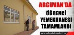Arguvan'da öğrenci yemekhanesi tamamlandı.