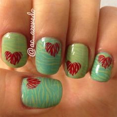 Heart Nail Designs Ideas For Valentines Day 2014 9 Heart Nail Designs & Ideas For Valentines Day 2014
