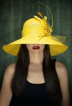 Yellow Sun Kentucky Derby Hat