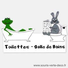 Deco Fr Html Humour Toilets Bunny Rabbit Doors Paint Washroom Humor The Far Side