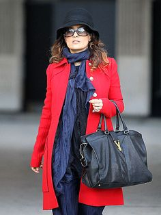 What does your astrological sign tell about your personality. Did you know that the traits of your astrological sign spill into your closet? Heres what your star sign says about your style Virgo . Salma Hayek Style, Red Trench Coat, Beautiful Outfits, Beautiful Clothes, Parisian Style, A Boutique, Casual Chic, Fashion Forward, Nice Dresses