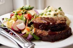 Honey BBQ meatloaf.