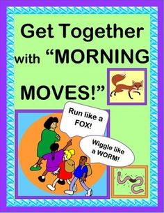 CELEBRATE being together in a CLASSROOM COMMUNITY! Use the 8 'ANIMAL ACTION' POSTERS to sequence your DIRECTED MOVEMENTS. Stretch like a Giraffe! Stomp like a Hippo! Sing a funny and easy SONG with words specific to YOUR CLASS! (10 pages) Get ACTIVE in the A.M. with Joyful Noises Express TpT! $