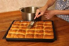 Czech Recipes, Bread Recipes, Ham, Waffles, Good Food, Food And Drink, Sweets, Baking, Breakfast