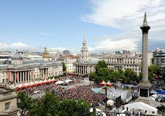 West End Live - Trafalgar Square in June