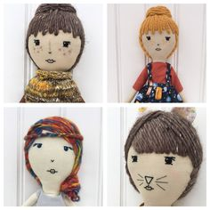 Beautiful handmade dolls Willow Friends on etsy
