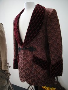 turn of the century men's smoking jacket - Google Search