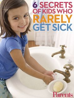 Healthy Kids: 6 Secrets of Kids Who Rarely Get Sick - You know that neighborhood kid who never seems to come down with anything? Do his parents know something you don't? Here are the top 6 secrets of kids who rarely get sick. Healthy Kids, How To Stay Healthy, Healthy Living, Healthy Meals, Parenting Advice, Kids And Parenting, Single Parenting, Health And Safety, Health And Wellness