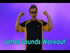 Phonics Song | Letter Sounds | Letter Sounds Workout | Alphabet Song | Jack Hartmann - YouTube