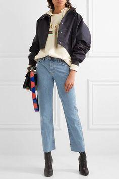 Light-blue denim Button and concealed zip fastening at front  81% cotton, 19% Lyocell Machine wash Designer wash: PrepAs seen in The EDIT magazine