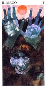 Baraja: Tarot de Sergio Toppi. Bloom Book, Italian Artist, Tarot Decks, Archetypes, Traditional Art, The Magicians, All Art, Watercolor Art, Comic Art