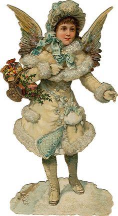 §§§ : victorian die-cut scrap : printables : http://altogetherchristmas.com/clipart.html