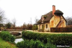 The queens Hamlet- (Marie Antoinette) Eleven houses spread around the lake, 5 for the queen, 4 for the peasants, 1 for the livestock, and 1 for domestic use.