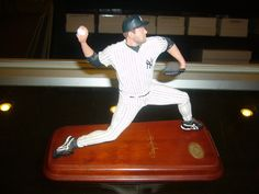 Roger Clemens. Yankees Roger Clemens, Danbury Mint, New York Yankees, Mlb, Action Figures, Baseball, Awesome, Sports, Things To Sell