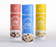 Nice breakfast cereal packaging- a student work by Ashley Hohnstein