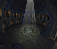 Lordaeron Throne Room by Lost-In-Concept on deviantART