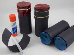 Make end cap to cover cellophane