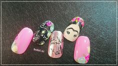 Diseño uñas frida kahlo