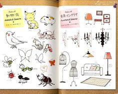 Japanese 80's Style Ballpoint Pen Easy Illustration by pomadour24