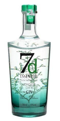 7d Essential London Dry Gin (U.K.)