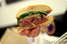 Un hamburger de chez Blend