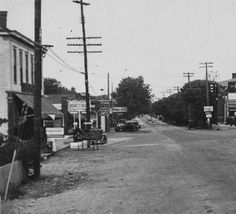 Dixie Highway and Seventh Street, Shively,(then Known as St. Helens) Kentucky, 1923. :: Herald-Post Collection