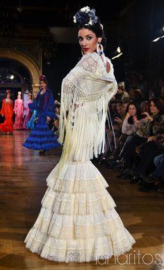 Manuela Macías Simof 2015 Spanish Dress, Spanish Wedding, Spanish Fashion, Fishtail, Costumes, Wedding Dresses, Flamenco Dresses, Inspiration, Clothes