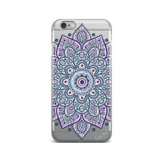 Dakota Mandala iPhone 7 clear casemandala clear iPhone by CaseYard