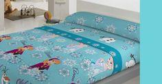 Jogo de cama Coralina FROZEN Este jogo de cama é perfeito para o quarto do seu filho com um design ideal em que os personagens da Disney mais conhecidas são representados: Minnie e Mickey. Um par ideal para criar um ambiente amigavel e familiar.perfeito para as noites frias de inver